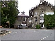 SN7477 : The Hafod Arms Hotel, Devil's Bridge by Maigheach-gheal