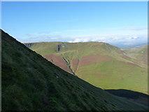 SH8115 : Steep hillside looking west by Richard Law