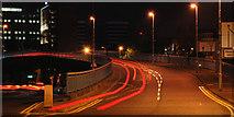 J3474 : Station Street/Bridge End flyover, Belfast (7) by Albert Bridge