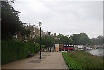 TQ1774 : Thames Path, Richmond by N Chadwick