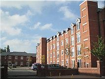 SP3177 : Recent flats, Warwick Street, Earlsdon by Robin Stott
