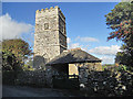 SW9642 : St. Michael's Church at Caerhays by Row17