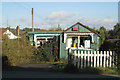 SO0864 : Ice cream hut, Crossgates / Y Groes by Robin Stott