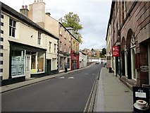 NY6820 : Bridge Street, Appleby in Westmorland by Andrew Curtis