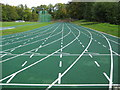 SP6737 : Stowe School: The David Donaldson Athletics Track by Nigel Cox