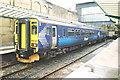 NY4055 : DMU at Carlisle Station by Roger Templeman