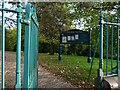 ST3087 : Entrance to Belle Vue Park by Robin Drayton