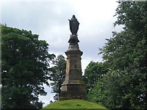 SD6838 : Stonyhurst College, the Lady Statue by Roger Jones