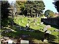 NZ3015 : Graveyard, St Andrew's Church by Paul Buckingham