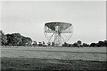 SJ7971 : Jodrell Bank radio telescopes, 1965 by Robin Webster
