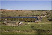 SE0118 : Schole Carr Farm and Baitings Dam by Paul Harrop