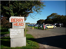 SX9456 : The car park at Berry Head by Ian S