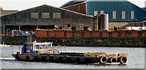 J3473 : Dredging the River Lagan, Belfast -  2010/11 (40) by Albert Bridge