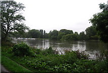 TQ1773 : River Thames (Horse Reach) by N Chadwick