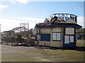 TQ8109 : Fire damaged pier by Oast House Archive