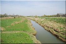 TQ5203 : River Cuckmere: upstream by N Chadwick