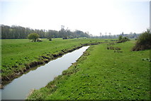 TQ5203 : River Cuckmere: downstream by N Chadwick