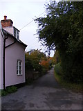 TM3864 : Denney's Lane, Kelsale by Adrian Cable