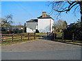 SO3914 : Large house at Llantilio Crossenny by Trevor Rickard