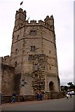 SH4762 : The Eagle Tower of Caernarfon Castle by Steve Daniels