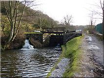 SD9726 : Below Callis Lock No13, Rochdale Canal by Alexander P Kapp