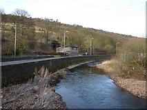 SD9726 : River Calder near Dover Bridge by Alexander P Kapp