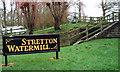 SJ4553 : Mill Steps by J Scott