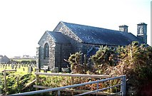 SH1727 : The modern graveyard at Eglwys Newydd, Aberdaron by Eric Jones