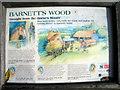 TQ5942 : Information board for Barnett's Wood Farm by Oast House Archive