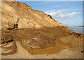 TM5281 : Ancient clay beds, Covehithe Cliffs by Evelyn Simak