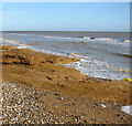 TM5282 : Withstanding the waves but for how long, Covehithe Cliffs by Evelyn Simak