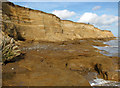 TM5282 : Ancient clay beds exposed at Covehithe Cliffs, Covehithe by Evelyn Simak