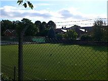 TQ1977 : Priory Park Bowling Green by Eirian Evans