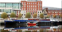 "J3474 : The ""Confiance"", Belfast (3) by Albert Bridge"