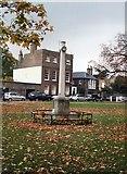 TQ1977 : War Memorial - Kew Green by Paul Gillett