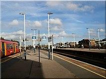 TQ2775 : Platform 2 at Clapham Junction by Paul Gillett