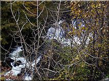 SH7357 : Waterfall through the trees by Nigel Brown
