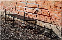 SJ5409 : Bench at Attingham Hall by Dave Croker