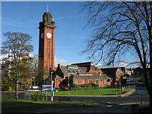 NS6168 : Stobhill Hospital - Clock Tower by G Laird