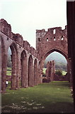 SO2827 : Llanthony Priory by nick macneill