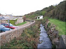 SH1726 : Afon Daron above its confluence with Afon Cyllyfelin by Eric Jones