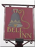 TR2647 : Bell Inn, Pub Sign by David Anstiss
