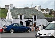 SH1726 : Y Gegin Fawr Cafe, Aberdaron by Eric Jones