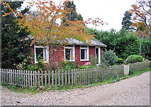 TG2202 : Bungalow by Common Farm, Dunston by Evelyn Simak