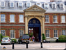 SU8363 : The Great Gate, Wellington College by D Gore