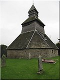 SO3958 : Unusual bell tower by Bill Nicholls