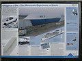 TL4178 : Hovertrain at Earith information board by Hugh Venables