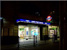 TQ2882 : Baker Street underground station by Thomas Nugent