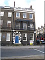 TQ2981 : NE corner of Bedford Square by Given Up