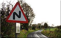 J3996 : Road signs, Gleno (2) by Albert Bridge
